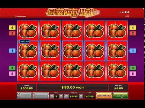 Огромный выигрыш в игровые автоматы Sizzling Hot Deluxe!! Big Win Вулкан Казино!!