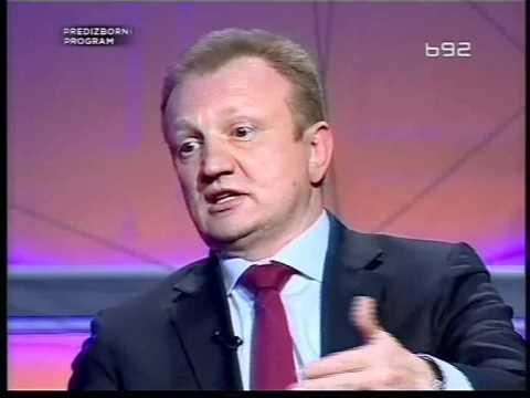 Dragan Djilas DS,Aleksandar Vučić SNS i Čedomir Jovanović LDP u emisiji odluka TV B92 Drugi deo