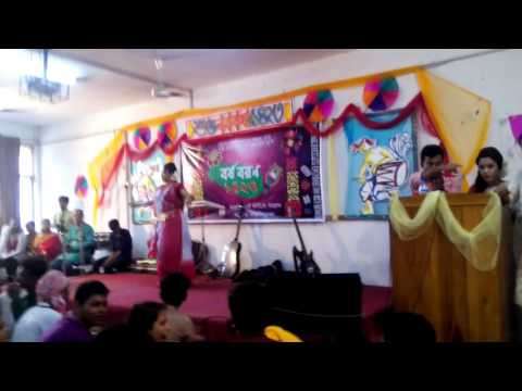 Pohela Boishakh performance @JAGANNATH UNIVERSITY(FARIHAH)
