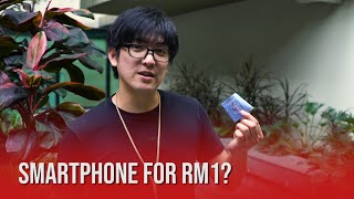 How to get a smartphone for RM1 | U Mobile