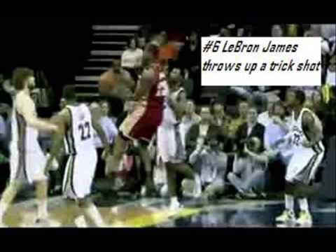 Top 10 Plays of 2009 NBA Season HQ