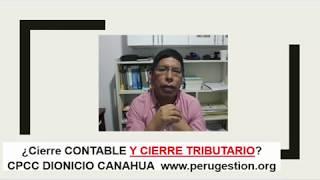 Cierre ¿Contable y Tributario 2017?