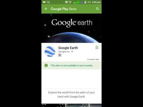 download the google earth app