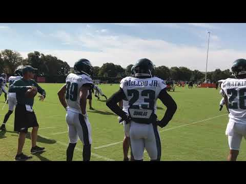 Ronald Darby at Eagles' practice 2