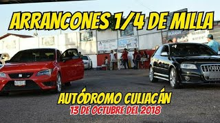 Sábado de Arrancones 1/4 de Milla Autódromo Culiacán #1 | Audi R8 V10 Plus Vs Audi s3 Nitro