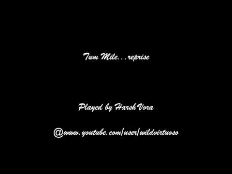 Tum mile (Reprise) piano cover by Harsh Vora