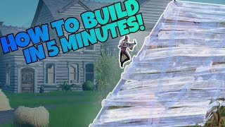 *HOW TO* BUILD BETTER IN 5 MINUTES! | (Fortnite Pro Tips & Tricks)