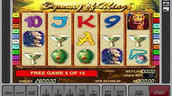 Mega Jackpot For Free Spins 700 000 - Dynasty Of Ming Slot