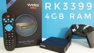 yundoo Y8 Android TV Box REVIEW - RK3399, 4GB RAM - Fastest TV Box available?!