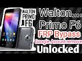 - Walton Primo F6 FRP Bypass 10000% Working  Security Update 2020 Google Acount Remove Done