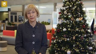 Vice-Chancellor's December 2018 Video Post: What a Great Year!