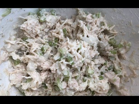 Chicken Salad Recipe - (Chicken Salad In 3 Minutes).