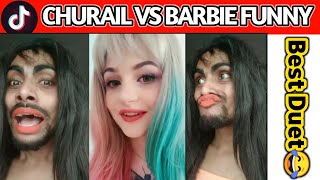 Most Funny Duet Video On Tik Tok Musically | Barbie vs Churail/Witch😂