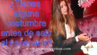 """María Aguado nos sorprende con """"Mi Rincón"""" y más en esta entrevista"""