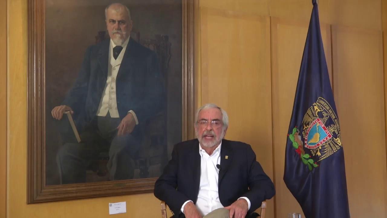 Mensaje del Rector Enrique Graue Wiechers