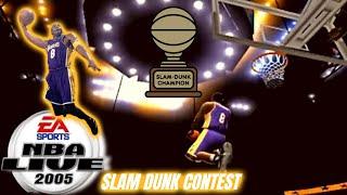 NBA Live 2005 PS2 Slam Dunk Contest 3