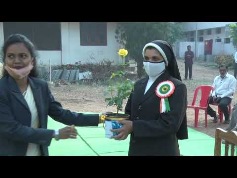 VIANNEY JUBILEE SCHOOL, BALLARPUR : REPUBLIC DAY CELEBRATION  2021
