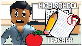 TEACHER MORNING ROUTINE | Roblox Bloxburg | Sunset Safari