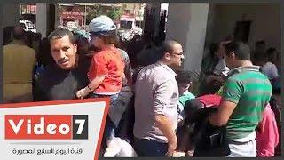 إقبال كبير من المواطنين على الحديقة الدولية بمناسبة عيد شم النسيم