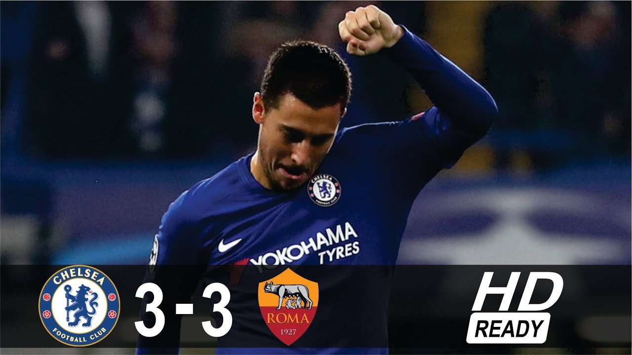 Download Chelsea 3-3 AS Roma All Goals & Extended Highlights 18 October 2017