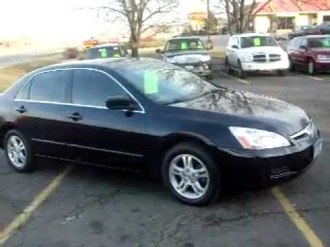 2006 Honda Accord Se 4dr Automatic 4cyl Loaded Jet