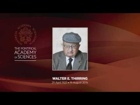 Walter Thirring Commemoration
