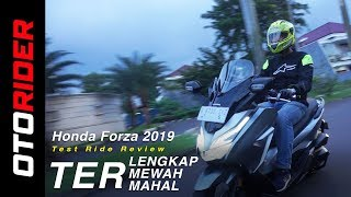 Honda Forza 2019 Test Ride Review - Indonesia | OtoRider