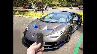 Typ findet Schlüssel zu Lamborghini...und fährt weg...