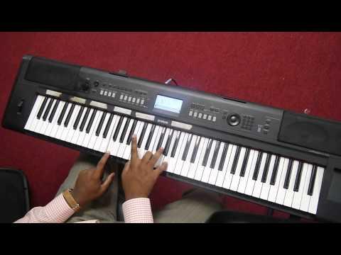 As a deer - In piano