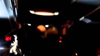 Пьяные русские танцуют в автобусе. 07.01.2011 3 часть