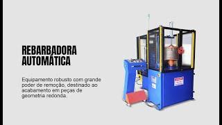 Rebarbadora Automática de peça fundida | R-MASA | Rebel