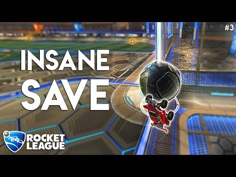 The Most INSANE SAVE You'll See In A While! - RL Moments #3