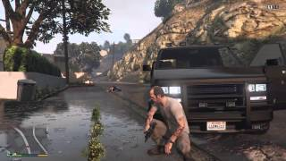 GTAV - Out of the frying pan and into the fire