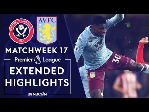 Sheffield United v. Aston Villa   PREMIER LEAGUE HIGHLIGHTS   12/14/19   NBC Sports