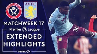 Sheffield United v. Aston Villa | PREMIER LEAGUE HIGHLIGHTS | 12/14/19 | NBC Sports Video