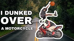 I Dunked over a Motorcycle!? | Get Dunked On