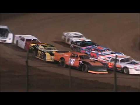 Sportsman Heat Race #3 Lernerville Speedway 10/14/16