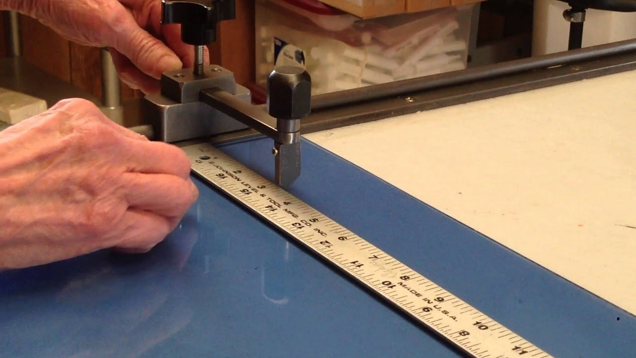 How to use the DK Monorail Glass Strip Cutter - YouTube