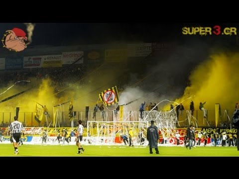 ARIS vs paok 2006/2007 || Yellow Hell || Super3 archive || no.15