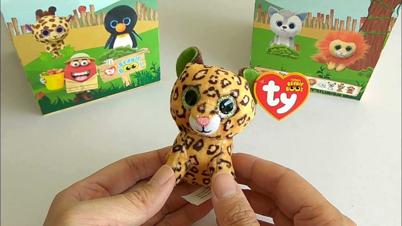 8901b20503a McDonald s Happy Meal Toy  TY Beanie Boos - Freckles (2018) - YouTube