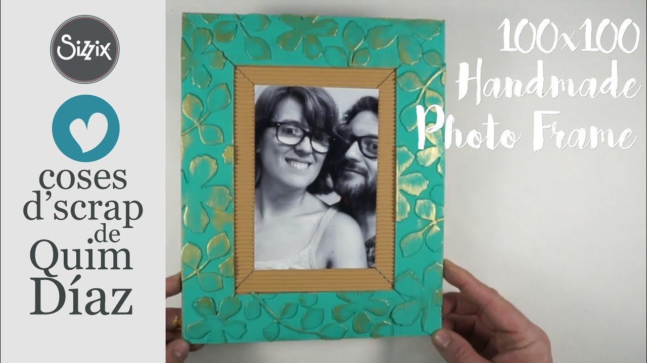 MARCO DE FOTOS HECHO A MANO - HANDMADE PHOTO FRAME - YouTube