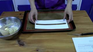 Making And Using Tuile - The Aubergine Chef Hd