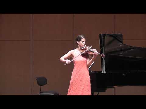 Iris Szeghy, Ciaccona für Violine solo, Simone Zgraggen, Violine