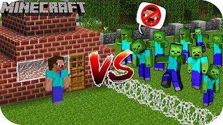 НУБ И ПРО ВЫЖИВАНИЕ ПРОТИВ ЗОМБИ - Зомби Апокалипсис в Майнкрафт видео троллинг нуба в Minecraft