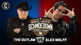 Hereditary's Alex Wolff VS 'The Outlaw' John Rocha - Movie Trivia Schmoedown Celebrity Edition