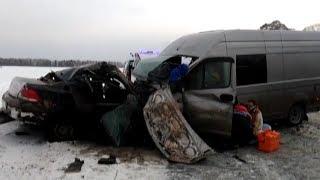 Раненых из автокатастрофы вывозили вертолётами. Real video