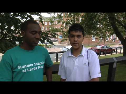 Leeds Met Summer Schools 2009