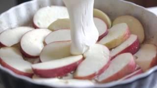 Рецепт    Шарлотка с яблоками и корицей   пирог с яблоками Simple Food   видео рецепты