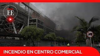 Incendio en Bogotá: las llamas consumieron parte del nuevo C.C El Edén | El Espectador