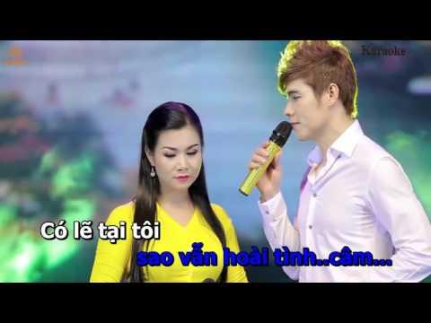 Yeu Nguoi Chung Vach Karaoke Song Ca Voi Duong Hong Loan